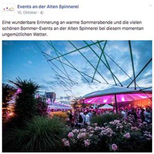 Forest-Marketing Agentur Rosenheim_Events an der alten Spinnerei 30